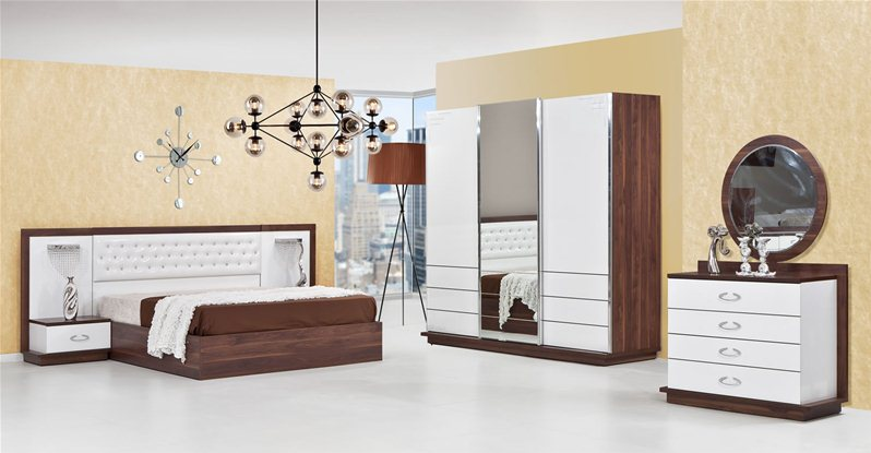 chambre coucher florya 1. Black Bedroom Furniture Sets. Home Design Ideas