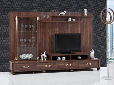 meuble tv kristal 1. Black Bedroom Furniture Sets. Home Design Ideas
