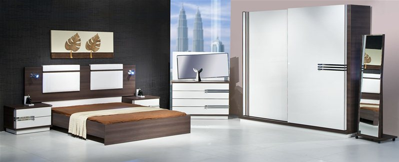 chambre coucher atlantis 1. Black Bedroom Furniture Sets. Home Design Ideas
