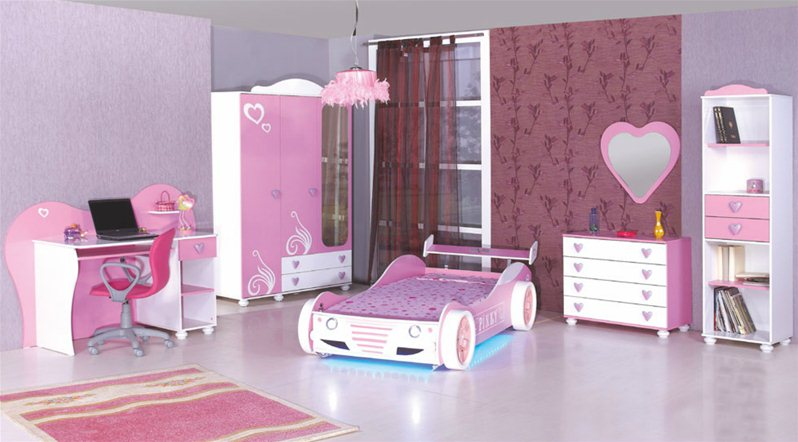 chambre enfants daisy grp 2. Black Bedroom Furniture Sets. Home Design Ideas