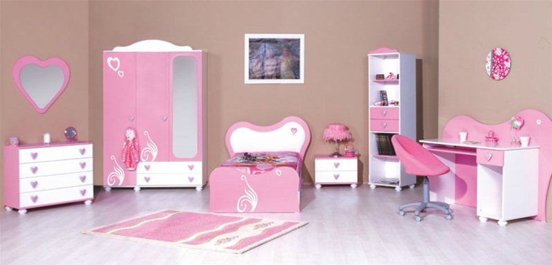 chambre enfants daisy grp 3. Black Bedroom Furniture Sets. Home Design Ideas