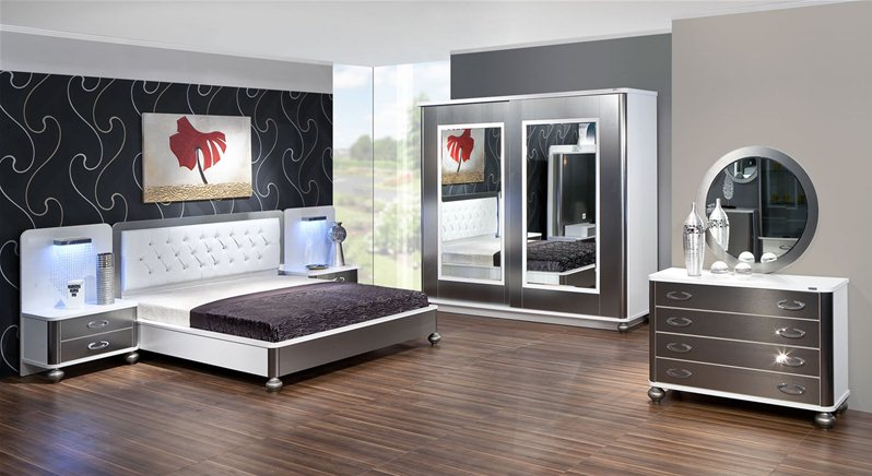 chambre coucher inox 1. Black Bedroom Furniture Sets. Home Design Ideas