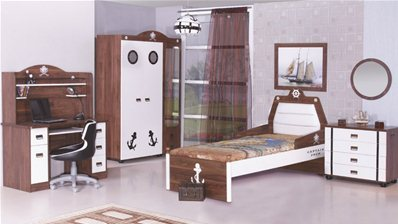 chambre enfants capitain jack 3. Black Bedroom Furniture Sets. Home Design Ideas