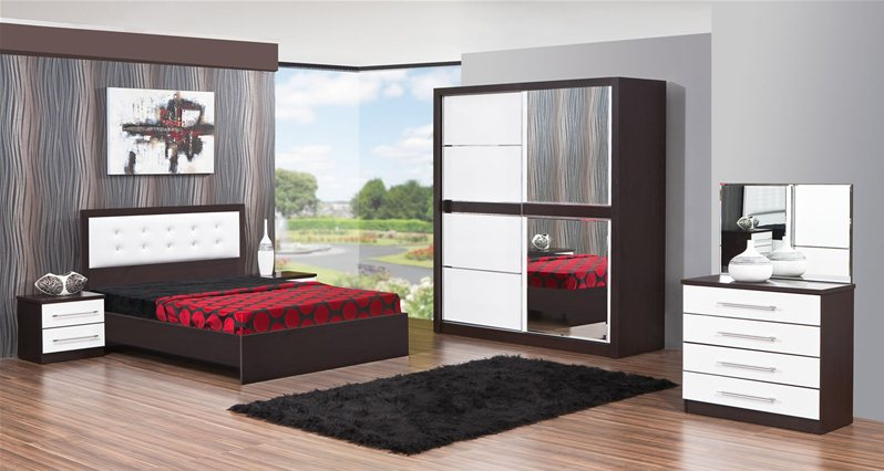 chambre coucher omega 1. Black Bedroom Furniture Sets. Home Design Ideas