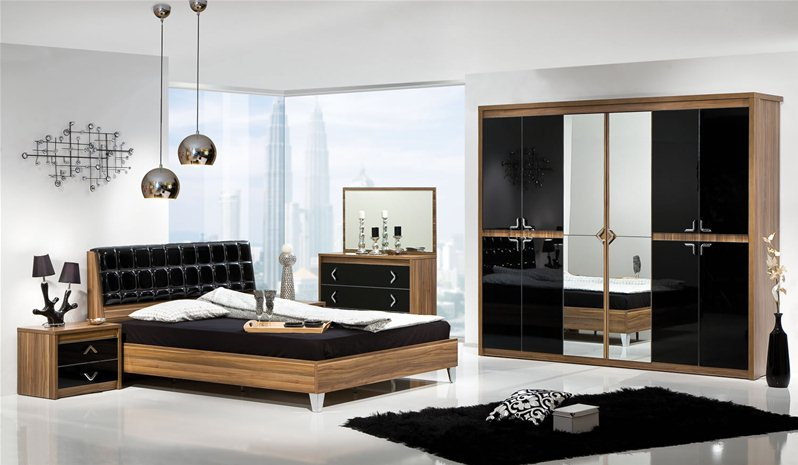 chambre coucher armoni 1. Black Bedroom Furniture Sets. Home Design Ideas