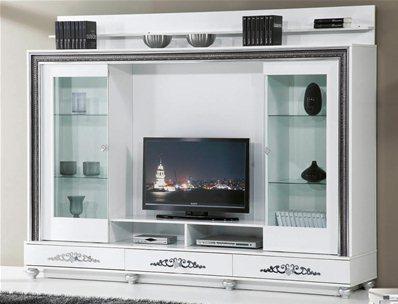 meuble tv siyah ipek 805. Black Bedroom Furniture Sets. Home Design Ideas