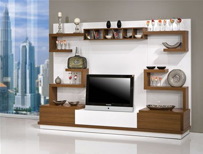 meuble tv bahar 1. Black Bedroom Furniture Sets. Home Design Ideas